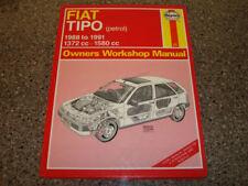 Revistas, manuales y catálogos de motor Tipo Fiat