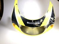 99 Suzuki GSXR 600 750 Front Upper Headlight Fairing Cowl Cover OEM