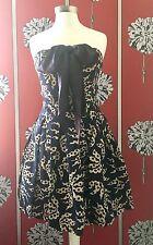 Nouvel échantillon PAUL & JOE bustier corsage Bow Dress FR 36 UK 8
