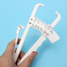 Body Fat Caliper Body Mass Measuring Tape Tester Fitness Weight Loss Muscle UK