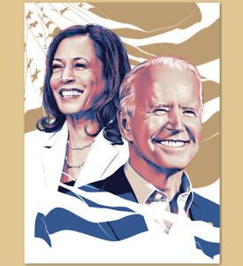Tracie Ching Joe Biden Kamala Harris Official Inauguration Poster 2021 Election