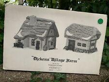 Department 56 Dickens Village Farm Set Of 2 5900-5