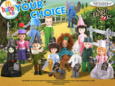 McDonald's 2008 Madame Alexander Wizard of Oz Munchkin Doll Your Toy Choice