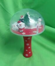 Christmas Spin Globe Handheld Battery Powered