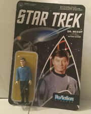 FUNKO REACTION STAR TREK DR. MCCOY - Action Figure NEW unpunched card