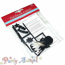 Sugarcraft Patchwork Cutters-Christmas Angel cutter set