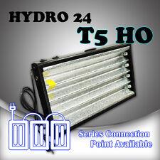 HYDRO24 c/w T5 HO 2FT 4x 6500k fluorescent tubes Hydroponics Propagation Light