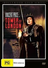 Tower Of London (DVD, Vincent Price) BRAND NEW SEALED