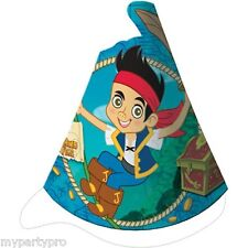JAKE AND THE NEVER LAND PIRATES party supplies (CONE HATS) FREE SHIPPING
