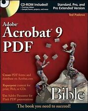 USED (VG) Adobe Acrobat 9 PDF Bible by Ted Padova