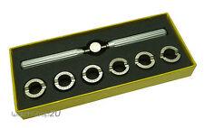 Watchmaker Waterproof Watch Case Opener Remover 5537 style 6 dies Repair Tool