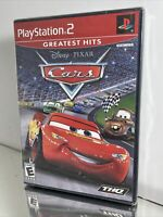 Disney Pixar Cars (Sony PlayStation 2, 2006) Race Car Game Sealed New