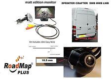 mercedes sprinter vw crafter Rear reversing camera 5 inch monitor parking