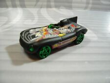 HOT WHEELS   loose = JAGUAR  D-TYPE = BLACK   green pr5