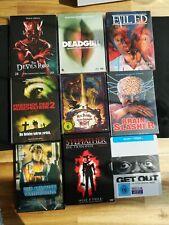 Mediabook Sammlung. Action/ Horror/84' / Nameless Splatter OOP Raritäten DVD