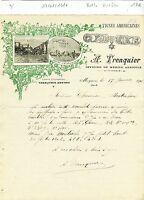Dépt 30 - Meynes - Belle Entête d'un Producteur de Vignes Américaines 17/01/1916