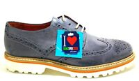 SOLDINI TEQUILA 19504 scarpe uomo inglesine francesine mocassini pelle vintage