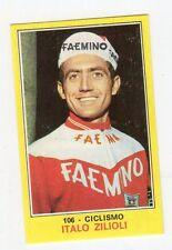 figurina PANINI CAMPIONI DELLO SPORT 1970-71 N. 106 CICLISMO ZILIOLI