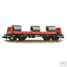 377-900B Graham Farish N Gauge BAA Steel Carrier Wagon with Coils Railfreight