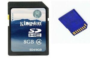 Kingston 8GB/ SD Memory Card Free Shipping