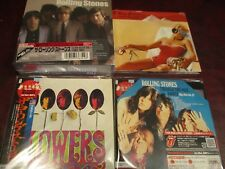 ROLLING STONES DIGIPAK MADE IN THE SHADE + SINGLES BOX 63-64 + DARKLY + FLOWERS