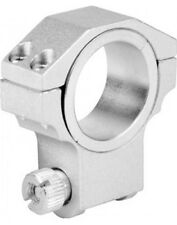 RUGER STYLE HIGH PROFILE 30MM/1 INCH HEAVY DUTY SCOPE RING (SILVER) SINGLE RING