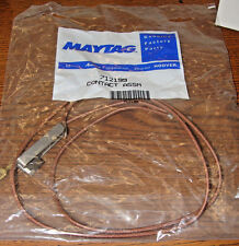 maytag 712199 Terminal and wire (long double/brown) FREE SHIPPING!!
