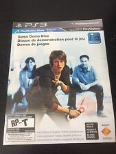 SONY PLAYSTATION 3 PS3 PLAYSTATION MOVE GAME DEMO DISC - BRAND NEW SEALED