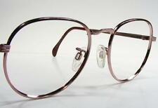 Rose Gold USA Vintage Metal Wire Rim P3 Eyeglass Frame Medium 80's NOS Retro 50
