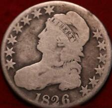 1826 Philadelphia Mint Silver Capped Bust Half Dollar