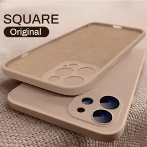 Case For iPhone 11 12 Pro Max XR XS X 8 7 6 Plus SE 2 Shockproof Silicone Cover