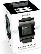 Pebble Smartwatch Black fur Android und iPhone, wie NEU