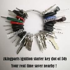 New 50 Universal Starter Key Plant Key Ignition Starter Key Heavy Equipment