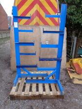 More details for pair of steel racks - for storing - tube  or  lengths steel