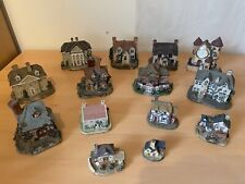 More details for collection of house / cottages figurines 14 included