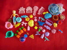 Lot of Doll House & Doll's Accessories - Please see Photos for Descriptions C7
