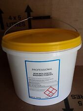 1 x 10kg Bucket Professional Non Bio Washing Powder 225+wash Laundry Soap Powder