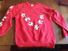 """Dayton Hudson Rare Sweatshirt  """"Santa Bear"""" 1986 Original Large 42-44"""