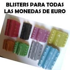 Blisters para todas las monedas de Euro 5 blisters por moneda