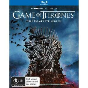 GAME OF THRONES - THE COMPLETE SERIES 1-8 (BLU-RAY,2019)