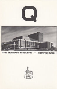 (07254) GB Havering Covers Queens Theatre Hornchurch Commemorative Card 1982
