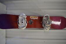 SNOWBOARD ,BURTON SNOWBOARD WITH BURTON BINDINGS, V RIDE STYLE