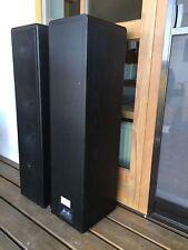 Exzellente Lautsprecherboxen (Paar) CANTON ERGO 90 DC Esche schwarz, super Klang
