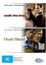 CRAZY HEART / WALK THE LINE : NEW DVD