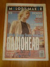 MELODY MAKER 1993 OCT 23 RADIOHEAD WONDER STUFF CRANES