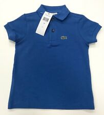 Lacoste Boy's Polo Shirt Short Sleeves in Blue