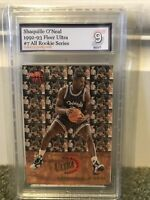1992 Fleer Ultra All Rookie Shaquille O'neal #7 PSA 9