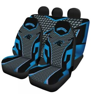 Carolina Panthers Car Seat Cover Universal Fit Auto Cushion Protector 5 Seats