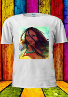 Pocahontas Disney Princess Princess T-shirt Vest Tank Top Men Women Unisex 410