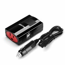 BESTEK 150W Power Inverter DC 12V to 110V AC Car Adapter with 3.1A Dual USB port